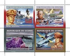 Guinea 2006 MNH - Avions Guerre I - YT 2795-2798, Mi 4485-4488 - Guinea (1958-...)