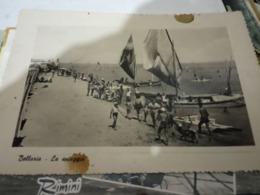 BELLARIA SPOIAGGIA E BARCEHE    N1950  HF792 - Rimini