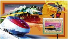 Guinea 2006 MNH - Trains Americains - Unui Pacific SD70M - YT 454, Mi 4404/BL1042 - Guinea (1958-...)