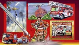 Guinea 2006 MNH - Vehicules Allmand D'Incendie - YT 455, Mi 4457/BL1071 - Guinea (1958-...)