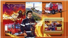 Guinea 2006 MNH - Vehicules Francais D'Incendie - YT 456, Mi 4458/BL1072 - Guinea (1958-...)
