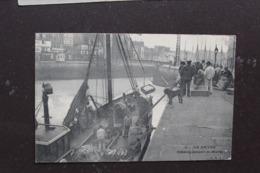 Le Havre 76600 Débarquement De Marée 094CP03voyagée En 1912 - Le Havre