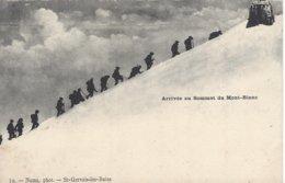 74 CHAMONIX MONT BLANC ARRIVEE  AU SOMMET DU MONT BLANC OBSERVATOIRE JANSSEN Editeur NUMA 10 - Chamonix-Mont-Blanc