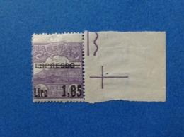 1926 SAN MARINO FRANCOBOLLO NUOVO STAMP NEW MNH** ESPRESSO SOPRASTAMPATO 1,85 SU 60 - Eilpost
