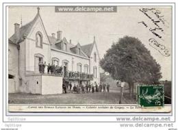Crépey - Caisse Des écoles Laiques De Dijon - Colonie Scolaire De Crépey - La Terrasse (belle Animation) - France