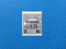 1927 SAN MARINO FRANCOBOLLO NUOVO STAMP NEW MNH** ESPRESSO SOPRASTAMPATO 1,75 SU 50 - Eilpost