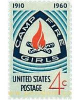 Ref. 38653 * MNH * - UNITED STATES. 1960. 50th ANNIVERSARY OF GIRL GUIDES . 50 ANIVERSARIO DEL ESCULTISMO FEMENINO - Francobolli