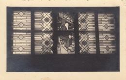 CP MAHRISCH TRUBAU - OSTSUDETENLAND - REPUBLIQUE TCHEQUE - VITRAIL DE LA CHAPELLE DE L' OFLAG VIII F CAMP DE PRISONNIERS - Tchéquie