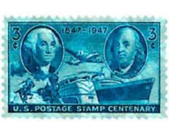 Ref. 59491 * MNH * - UNITED STATES. 1947. CENTENARY OF THE STAMP . CENTENARIO DEL SELLO - Treni