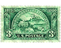 Ref. 60952 * MNH * - UNITED STATES. 1950. 75th ANNIVERSARY OF THE AMERICAN BANKERS ASSOCIATION . 75 ANIVERSARIO DE LA AS - Treni