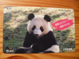 Phonecard Japan 231-029 Panda - Japon