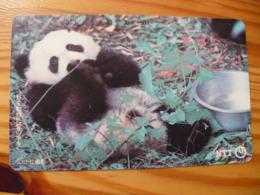 Phonecard Japan 230-154 Panda - Japon