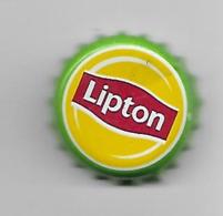 1/4 - PAYS-BAS / CAPSULE THE LIPTON CONTOUR VERT - Soda
