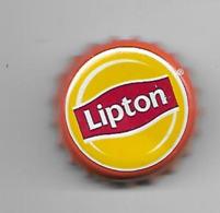 1/4 - PAYS-BAS / CAPSULE THE LIPTON CONTOUR ORANGE - Soda