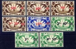 INDE - N° 172/179** - SÉRIE DE LONDRES - Indien (1892-1954)