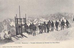 74 CHAMONIX MONT BLANC OBSERVATOIRE JANSSEN AU SOMMET DU MONT BLANC Editeur JULLIEN FRERES JJ6204 - Chamonix-Mont-Blanc