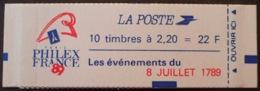 R1615/1294 - TYPE LIBERTE De DELACROIX - CARNET NEUF** Fermé - N°2376-C12 - Carnets