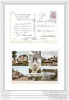 6912 FRD27 AK/PC/CP/27/LES BAUX DE BRETEUIL/MULTI VUES/MAIRIE ET MONUMENT AUX MORTS/1964/TTB - Francia
