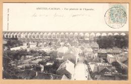 CPA Arcueil-Cachan, Vue Generale De L'Aqueduc, Gel. 1905 - Arcueil