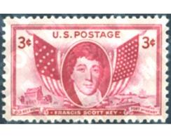 Ref. 247846 * MNH * - UNITED STATES. 1948. FRANCIS SCOTT KEY . FRANCIS SCOTT KEY - Bateaux