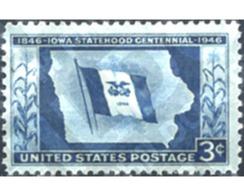 Ref. 247924 * MNH * - UNITED STATES. 1946. IOWA STATEHOOD CENTENNIAL . CENTENARIO DEL ESTADO DE LA UNION EN IOWA - Geography