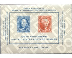 Ref. 272352 * MNH * - UNITED STATES. 1947. CENTENARY OF THE STAMP . CENTENARIO DEL SELLO - United States