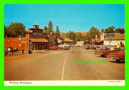 WINTHROP, WASHINGTON - MAIN STREET - PUB. BY ELLIS POST CARD CO - DEXTER PRESS INC - - Autres