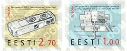 Ref. 85535 * MNH * - ESTONIA. 1994. EUROPA CEPT. GREAT DISCOVERIES . EUROPA CEPT. GRANDES DESCUBRIMIENTOS - Fotografia