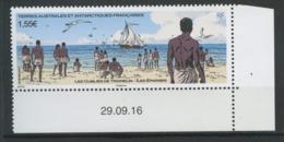 TAAF 2017  N° 814 ** Neuf MNH Superbe Oubliés De Tromelin îles Eparses Bateau Sailboat Esclaves - Ungebraucht