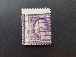 STATI UNITI UNITED STATE US USA 1917 George Washington ERROR PERFORATION !! - Used Stamps