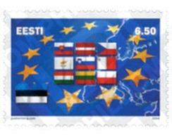 Ref. 145481 * MNH * - ESTONIA. 2004. EUROPEAN UNION AMPLIATION . AMPLIACION DE LA UNION EUROPEA - Estonia