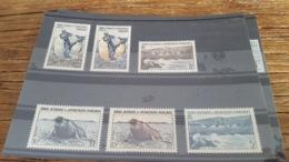 LOT 473942 TIMBRE DE COLONIE TAAF NEUF* N°2 A 7 VALEUR 51,4 EUROS - Terre Australi E Antartiche Francesi (TAAF)