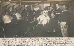 CARTE PHOTO ALLEMANDE SOLDATS ALLEMANDS  1904 - Sonstige
