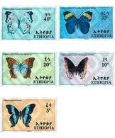 Ref. 75864 * MNH * - ETHIOPIA. 1967. BUTTERFLIES . MARIPOSAS - Ethiopie