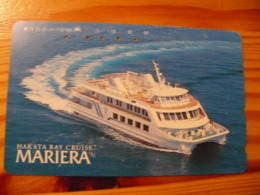 Phonecard Japan 390-11863 Ship - Japon