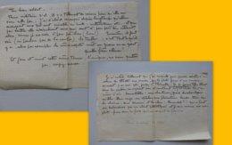FERNANDEL à THIONVILLE Vers 1932, Témoignge Iconoclaste D'un Soldat  Ref 693 ; PAP07 - Documents Historiques