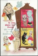 2010 Belgien  Mi. Bl. 150 FD-used     Europa - Kinderbücher.. - Europa-CEPT