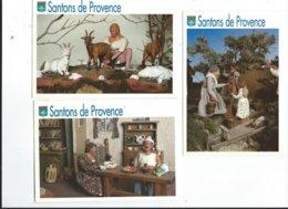 83 Le Val Musée Du Santon Jean De Florette Et Manon De Sctturo, La Femme Du Boulanger De Landucci, Olivades De Landucci - Otros Municipios