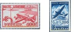 Ref. 159707 * MNH * - FEZZAN. 1948. AIRPLANE . AVION - Fezzan (1943-1951)