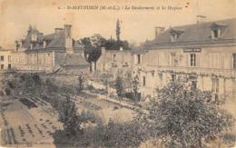 Thème   Police-Gendarmerie:     St Mathurin Sur Loire   49    La Gendarmerie      (voir Scan) - Sapeurs-Pompiers