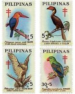Ref. 35080 * MNH * - PHILIPPINES. 1967. ANTI-TUBERCULOSIS . ANTITUBERCULOSIS - Birds