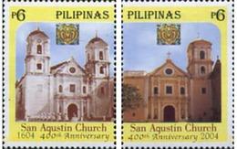 Ref. 198159 * MNH * - PHILIPPINES. 2004. 400 ANIVERSARIO DE LA IGLESIA DE SAN AGUSTIN - Philippines