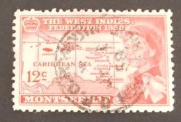 MONTSERRAT YT 147 OBLITÉRÉ ANNÉE 1958 - Montserrat