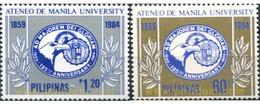Ref. 313345 * MNH * - PHILIPPINES. 1984. 125 ANIVERSARIO DE LA UNIVERSIDAD DE MANILA - Filipinas