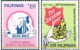Ref. 313384 * MNH * - PHILIPPINES. 1987. CELEBRATIONS . CONMEMORACIONES - Unclassified