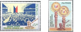 Ref. 313397 * MNH * - PHILIPPINES. 1988. CONGRESS . CONGRESO - Philippines