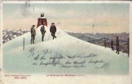 74 CHAMONIX MONT BLANC OBSERVATOIRE JANSSEN AU SOMMET DU MONT BLANC Editeur PREIS KARTE 952 - Chamonix-Mont-Blanc