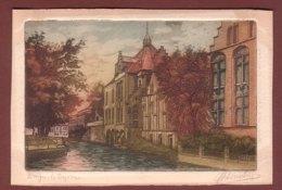 Dessin / Aquarelle - BRUGES - Le Dyver - Brugge