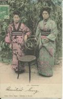 Japonaises ( Saïgon ) , CPA ANIMEE , 1908 - Viêt-Nam