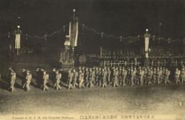 Japan, Funeral Of H.I.M. The Empress Dowager Shōken (1914) V - Japan